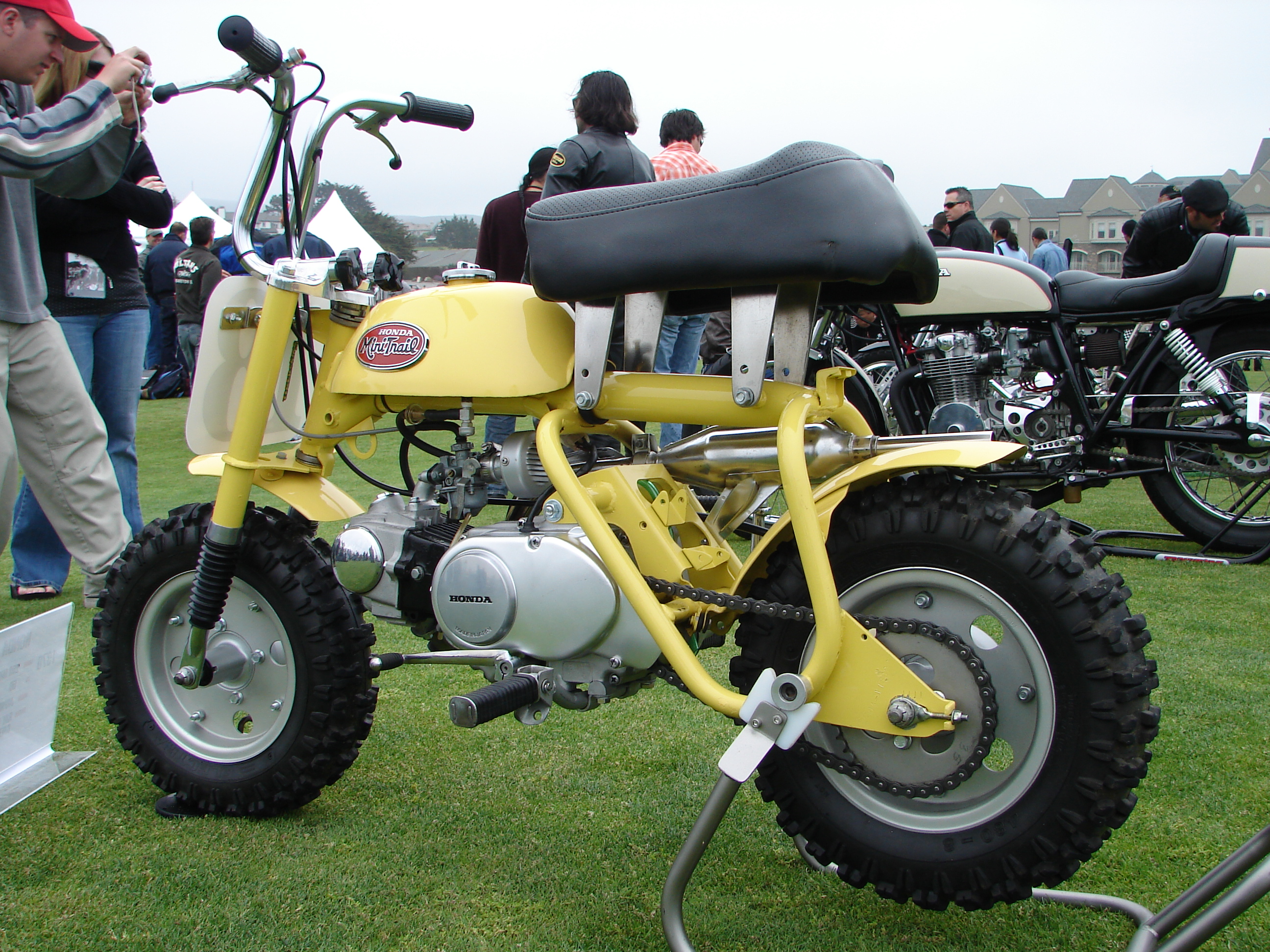 File Honda Mini Trail Yellow Jpg Wikimedia Commons