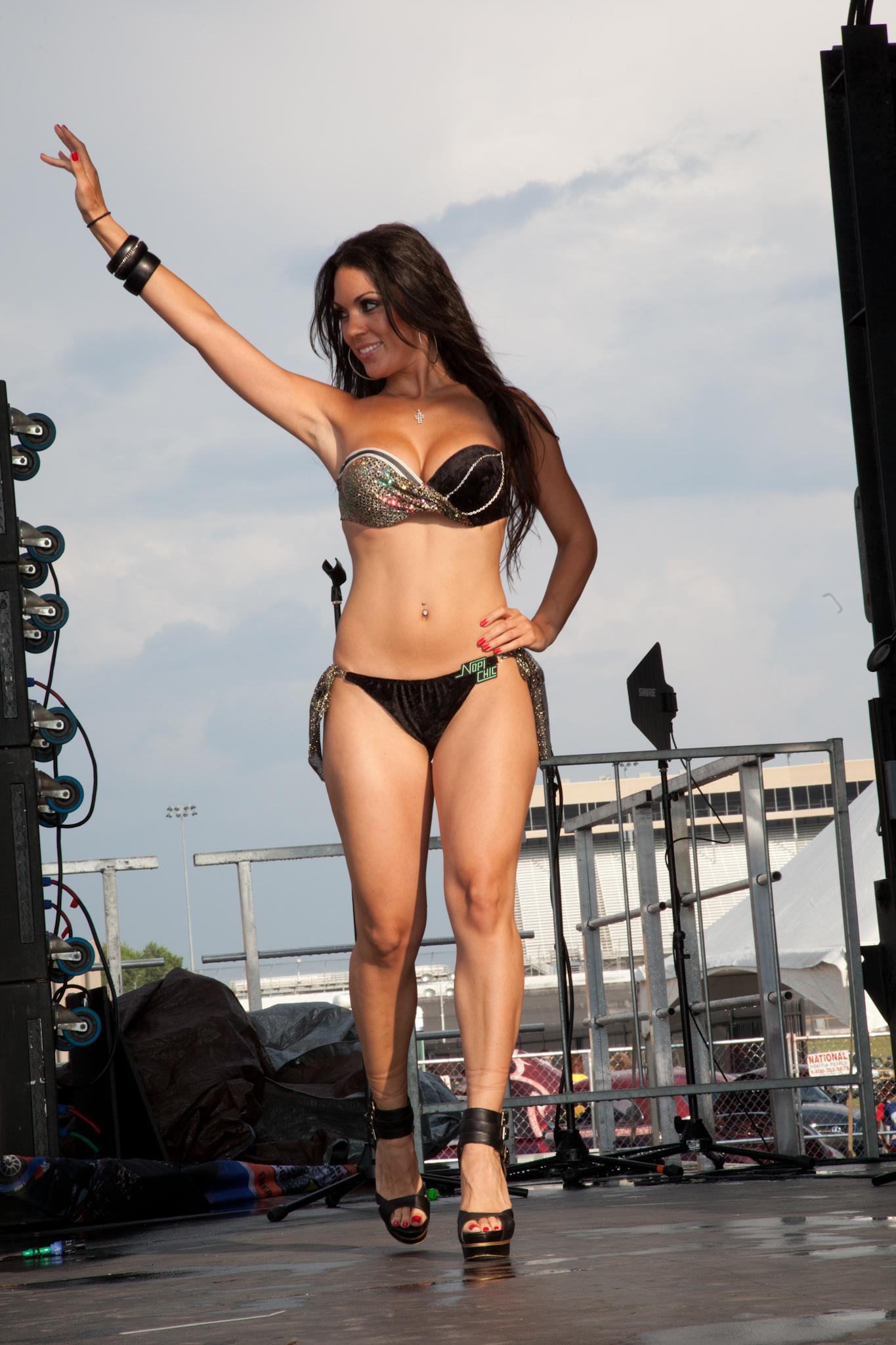 Bikini hot import contest nights
