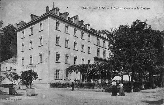 File hotel du cercle uriage carte postale ancienne jpg for Hotels uriage