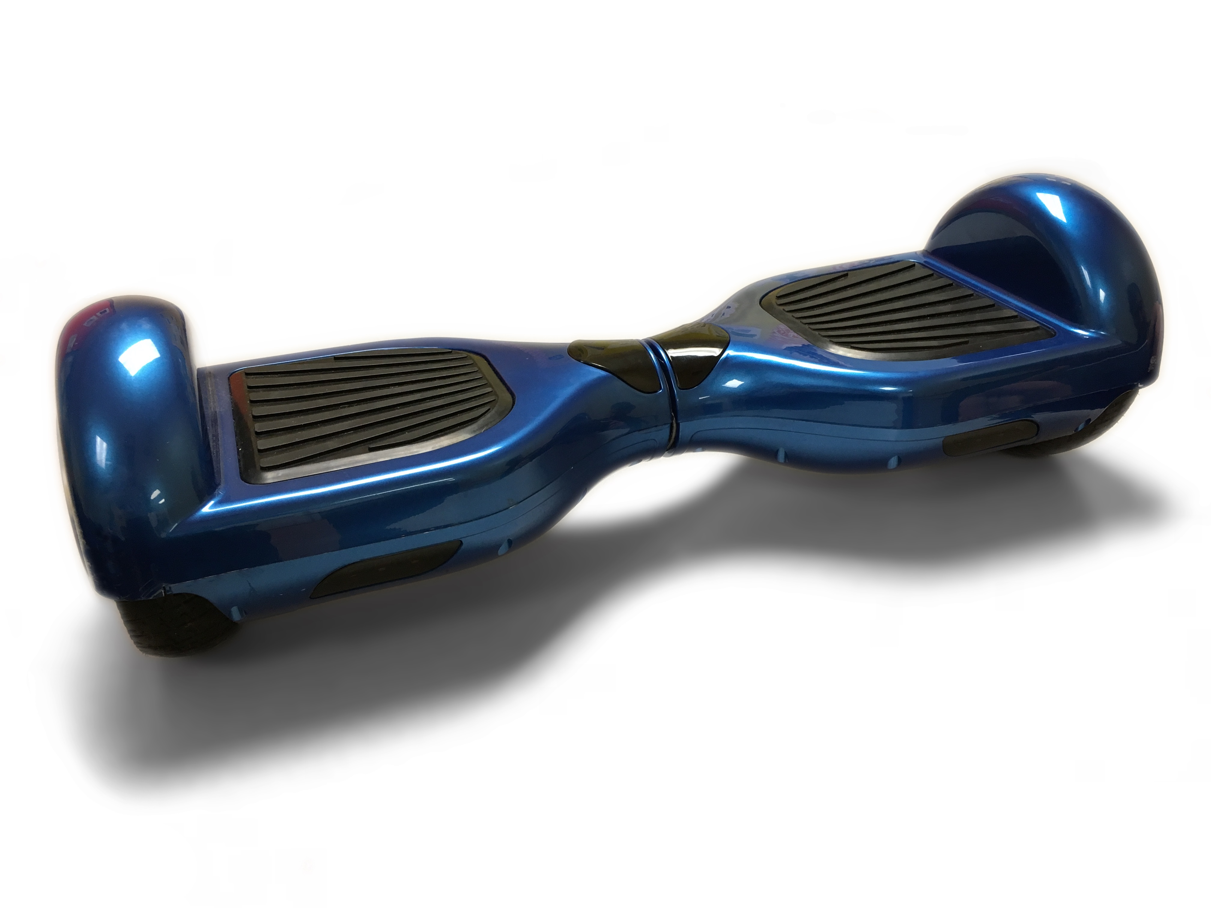 a blue hoverboard on a white background from wikimedia