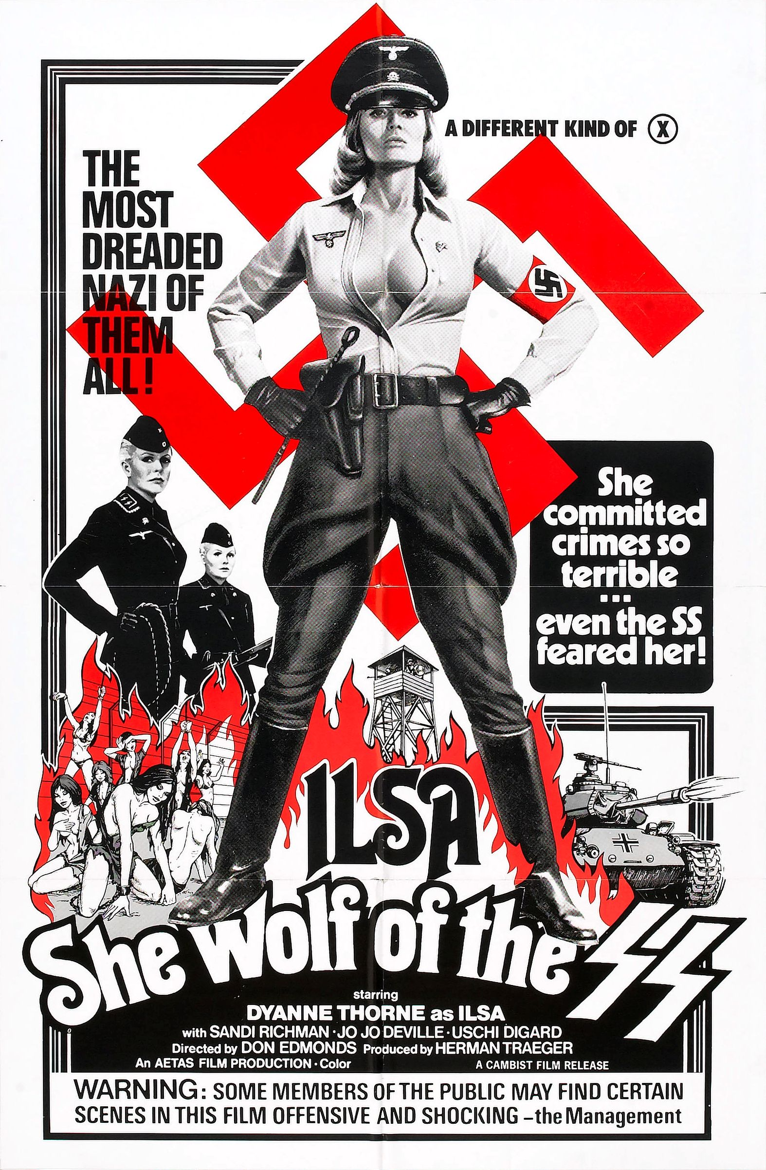 Description ilsa she wolf of ss poster 02
