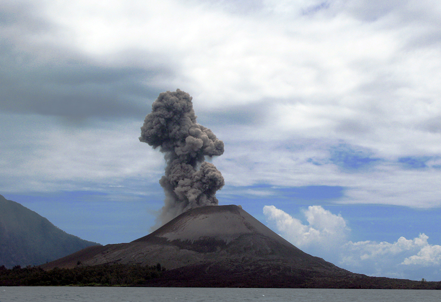 Image Result For Krakatau Anak Krakatau