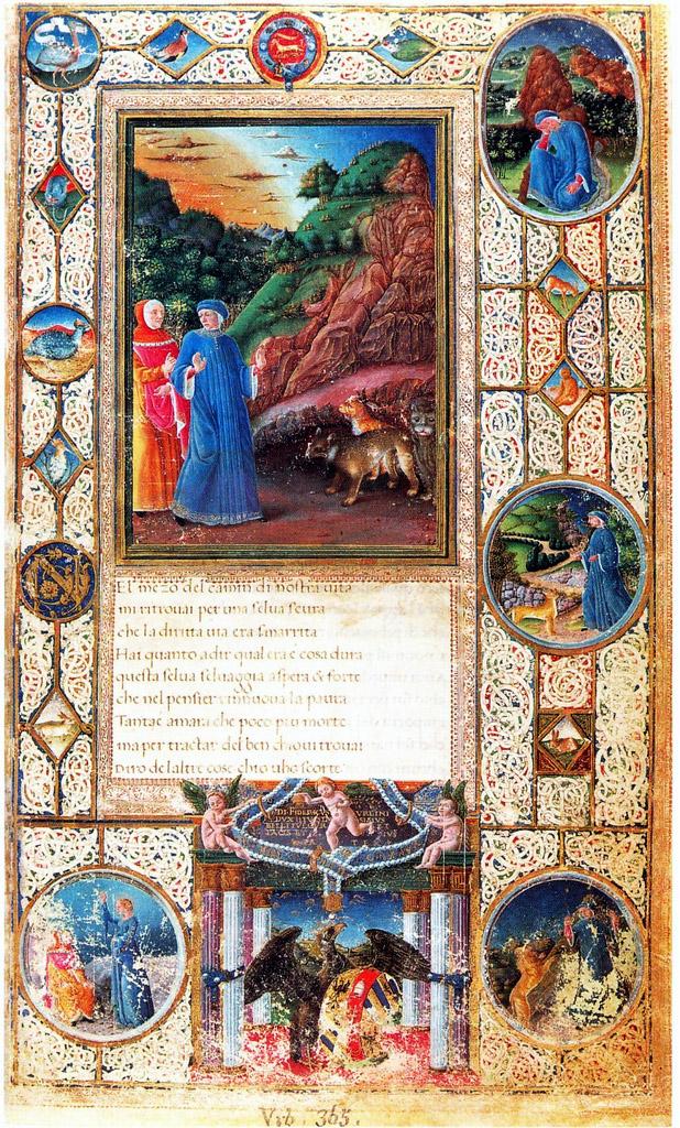File Inferno Canto I Divina Commedia De Federigo Da