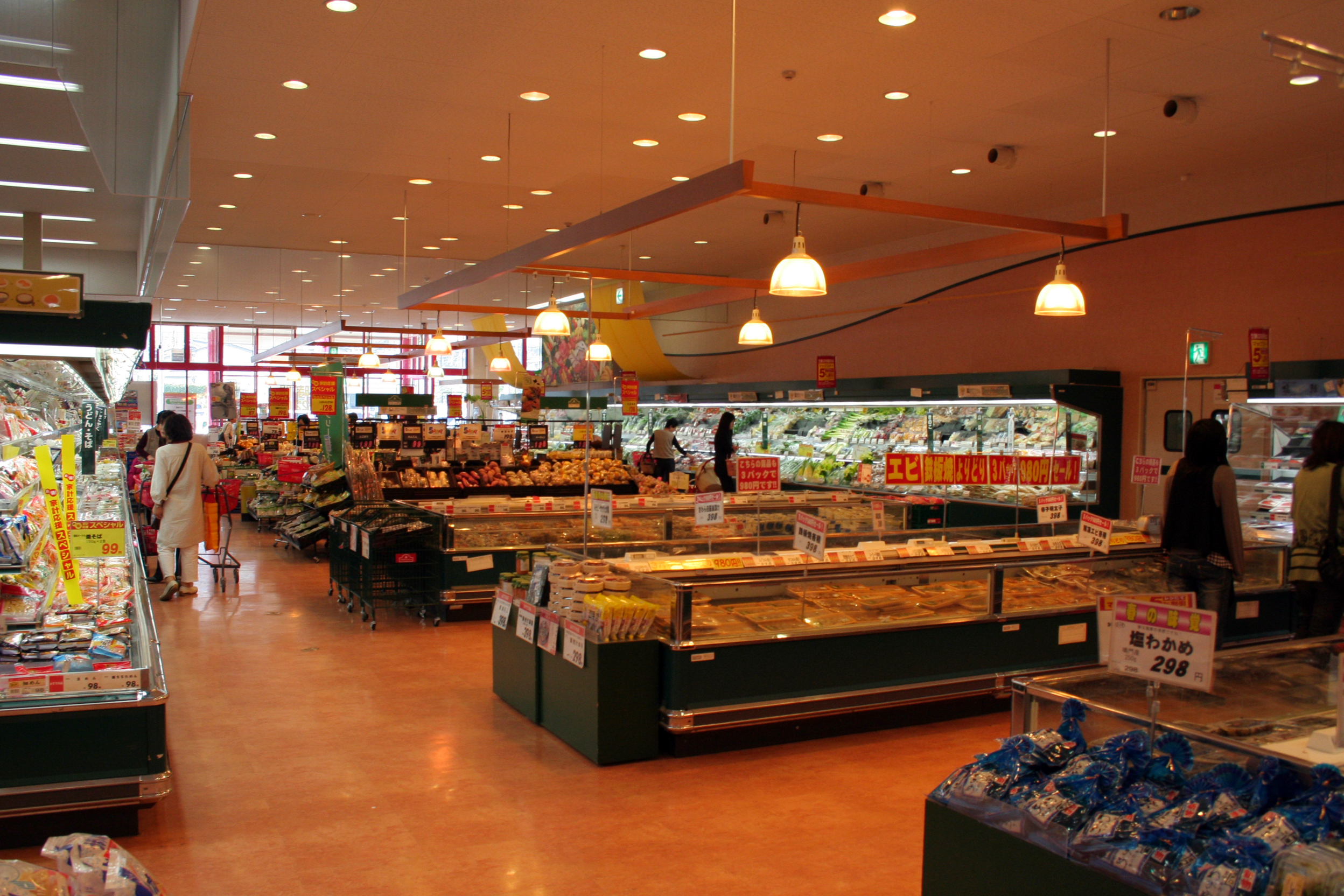 Grocery Retail Interior Design