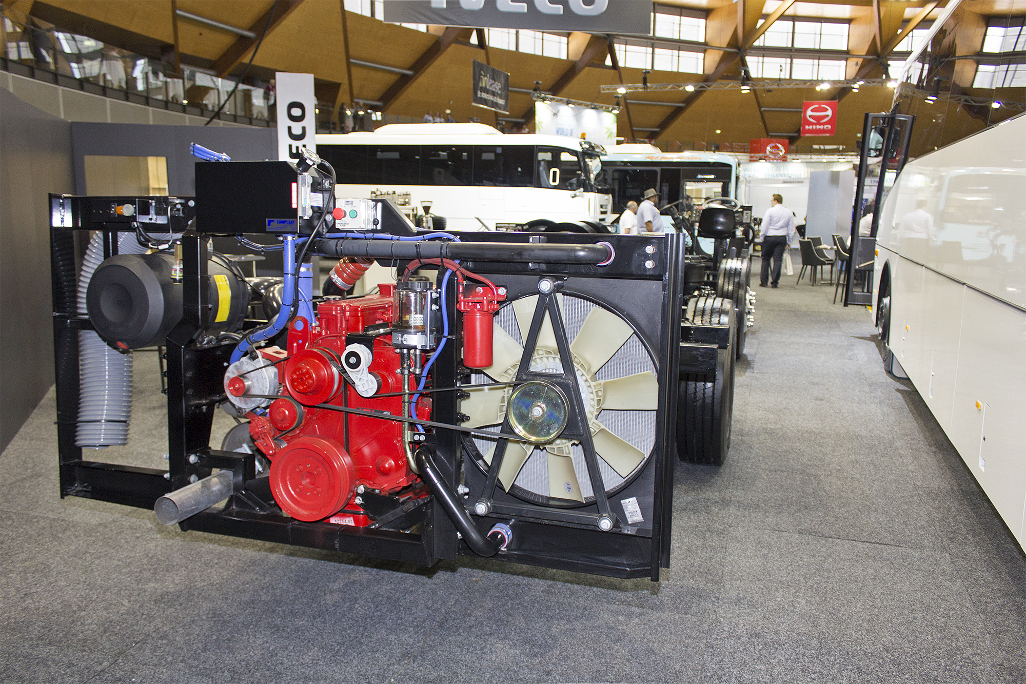 Fileiveco Delta Graduate Chassis On Display At The 2013 Australian