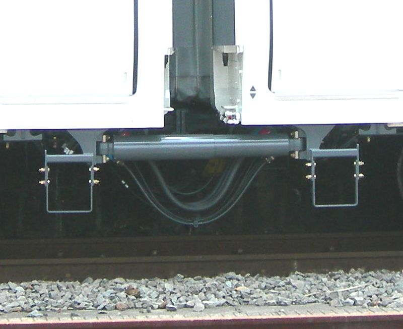 Which Train Does Not Touch Any Rails While Traveling