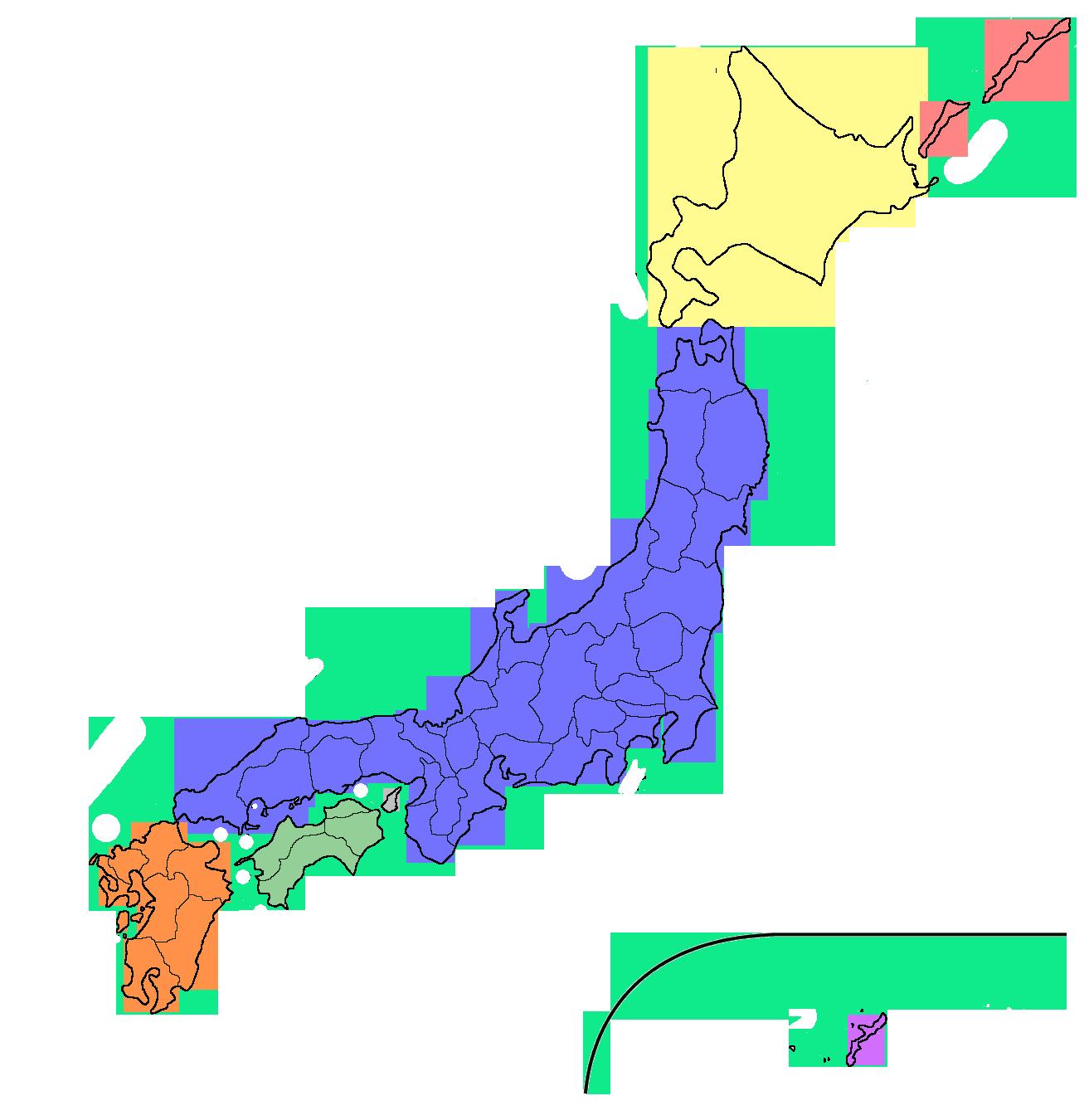FileJapanese Islandspng Wikimedia Commons - Japan map 4 main islands