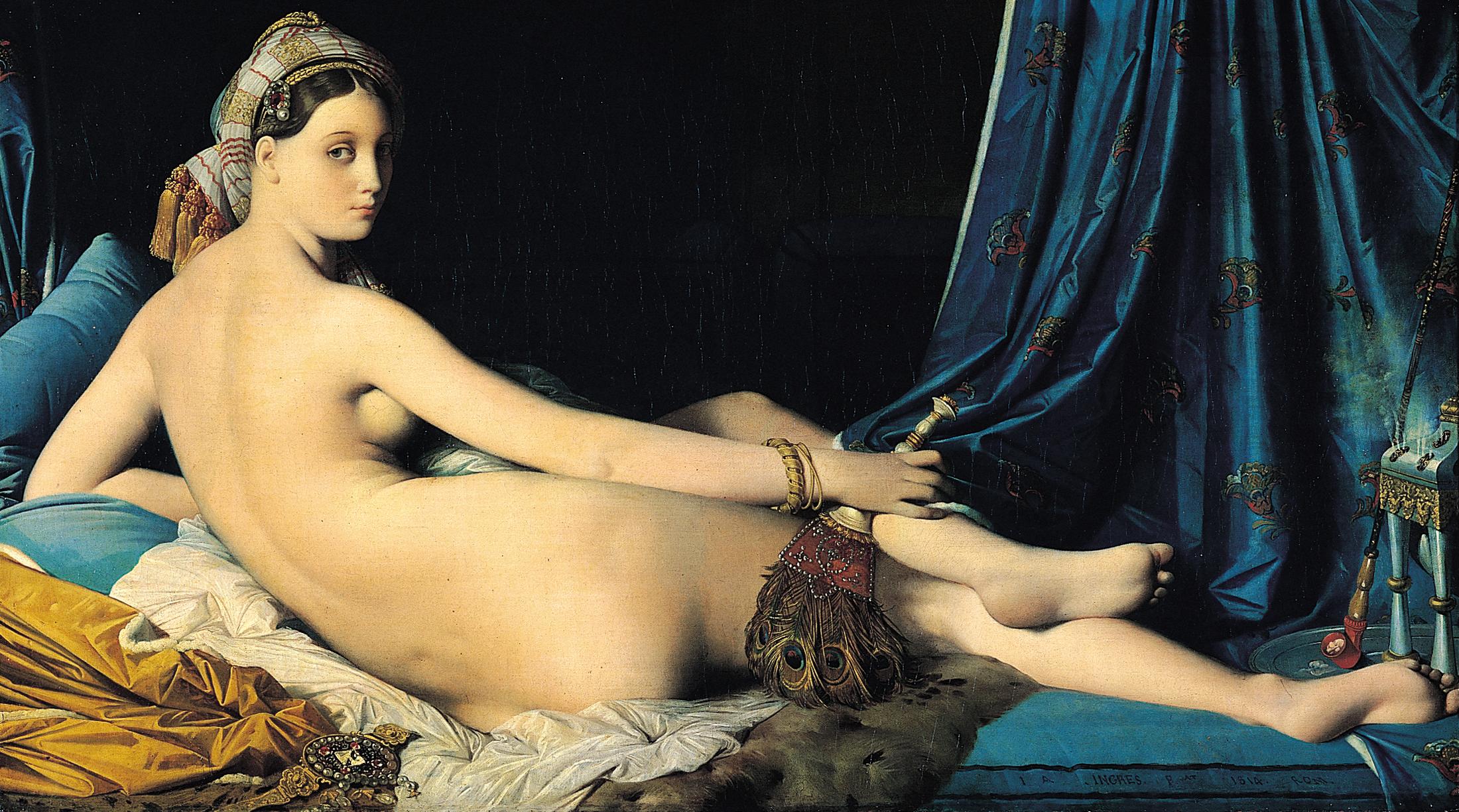 """Résultat de recherche d'images pour """"ingres + la grande odalisque"""""""