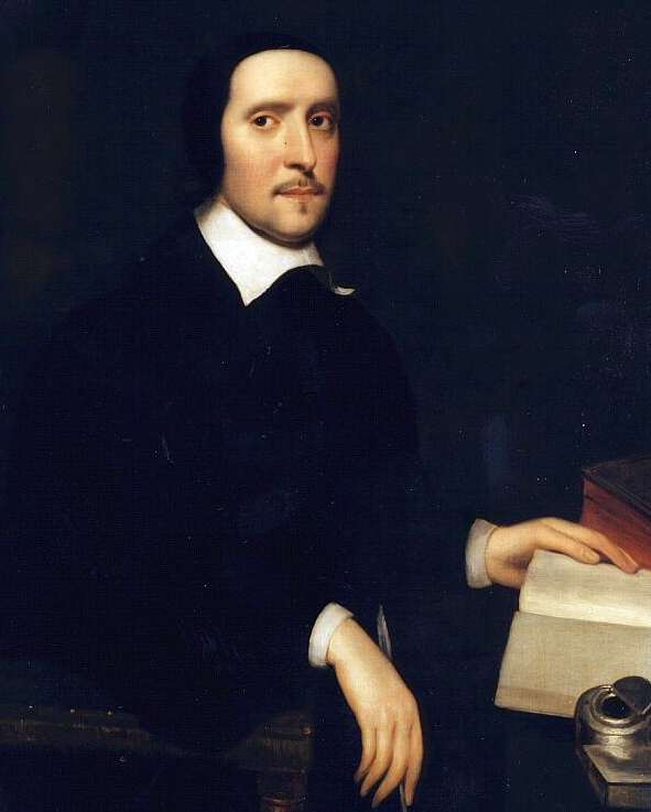 Taylor as depicted in a [[portrait]] at [[Gonville and Caius College, Cambridge]]
