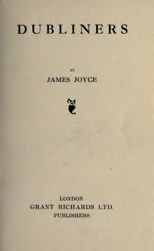 "james joyce a little cloud Paralytic people: paralysis in james joyce's ""a little cloud."