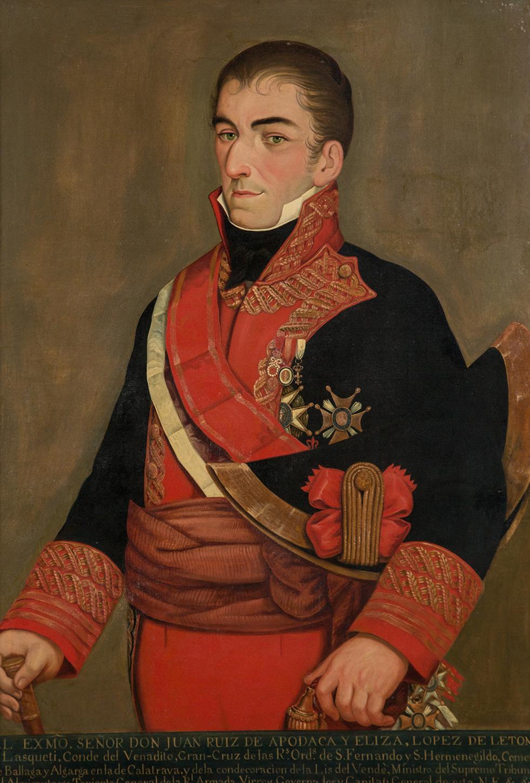 Retrato de Juan Ruiz de Apodaca.