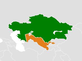Kazakhstan–Uzbekistan relations - Wikipedia