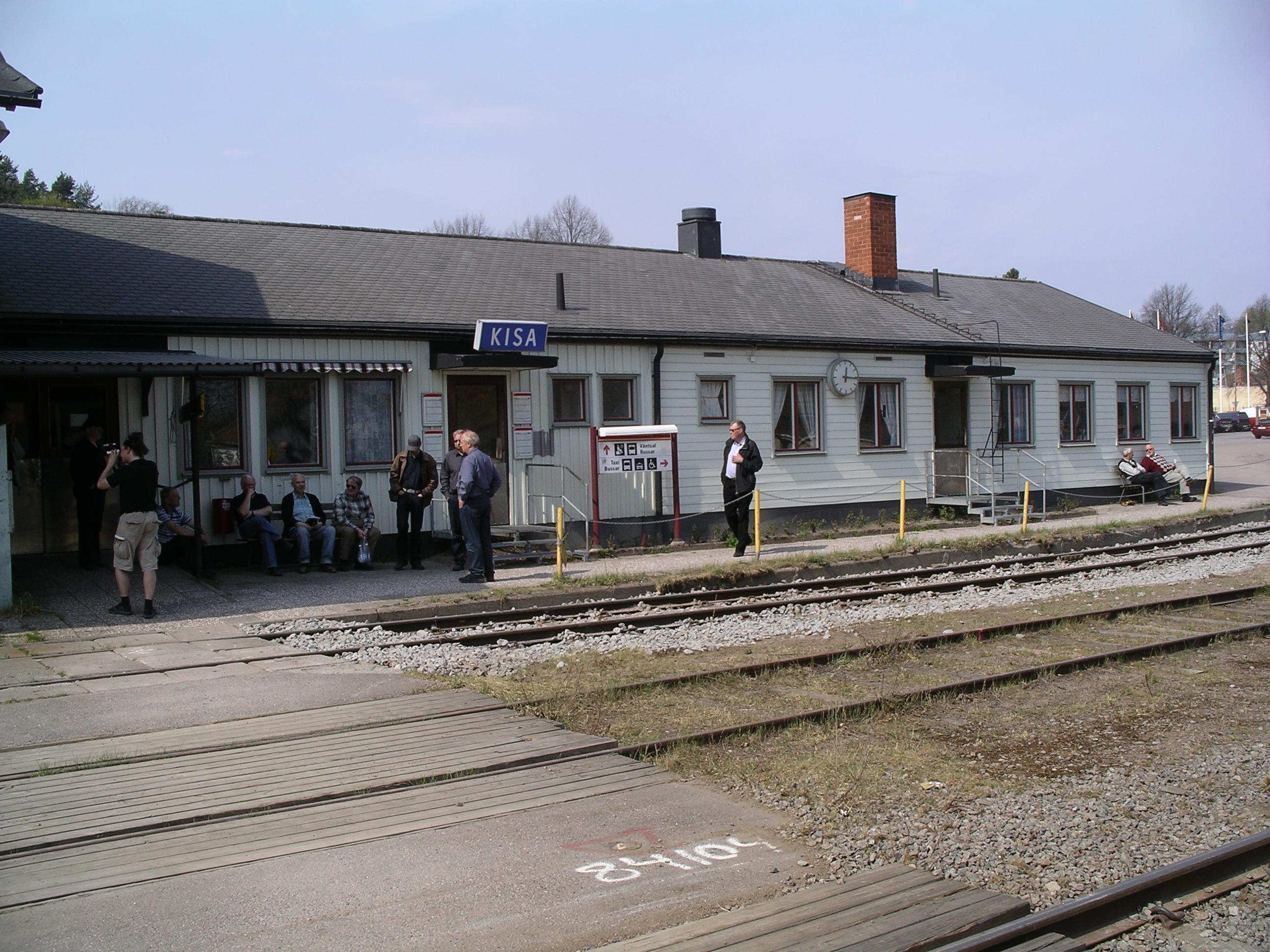 Bildresultat för kisa tågstation 1970