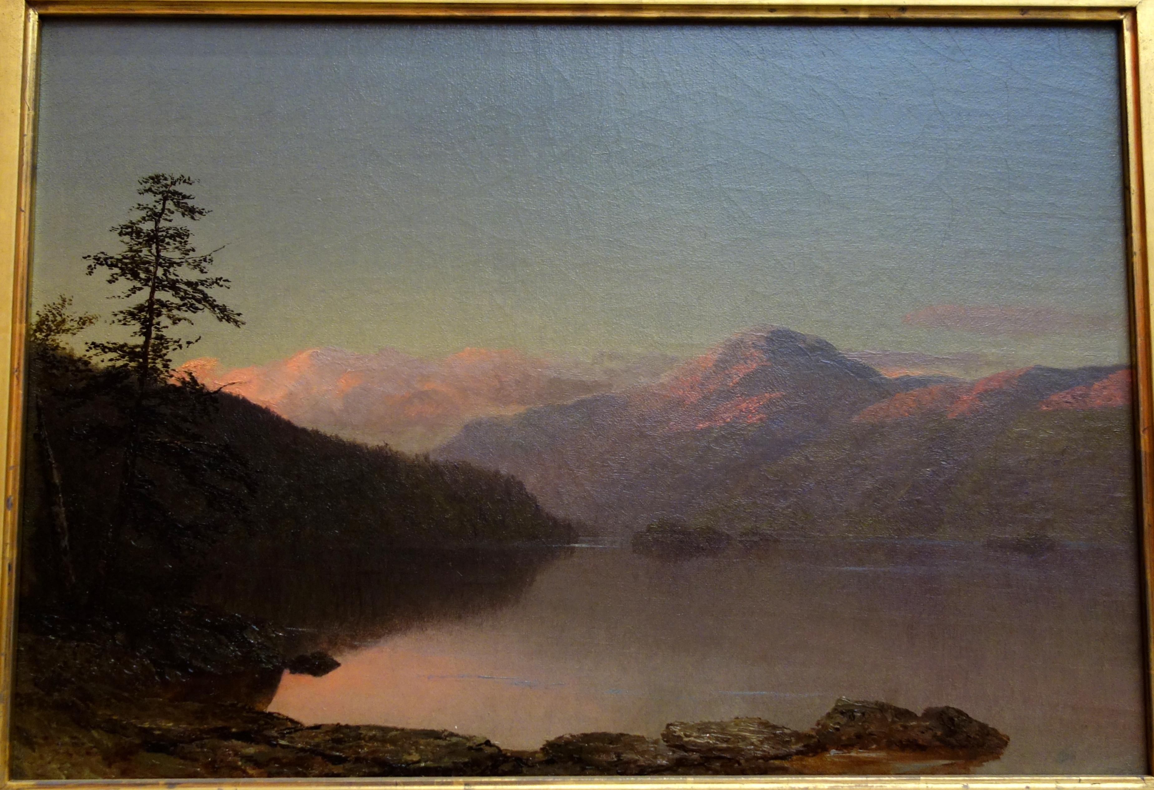 File Lake George By Homer Dodge Martin C 1859 Oil On
