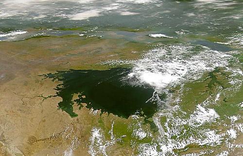 Rozloha Viktoriina jezera je opravdu majestátní.