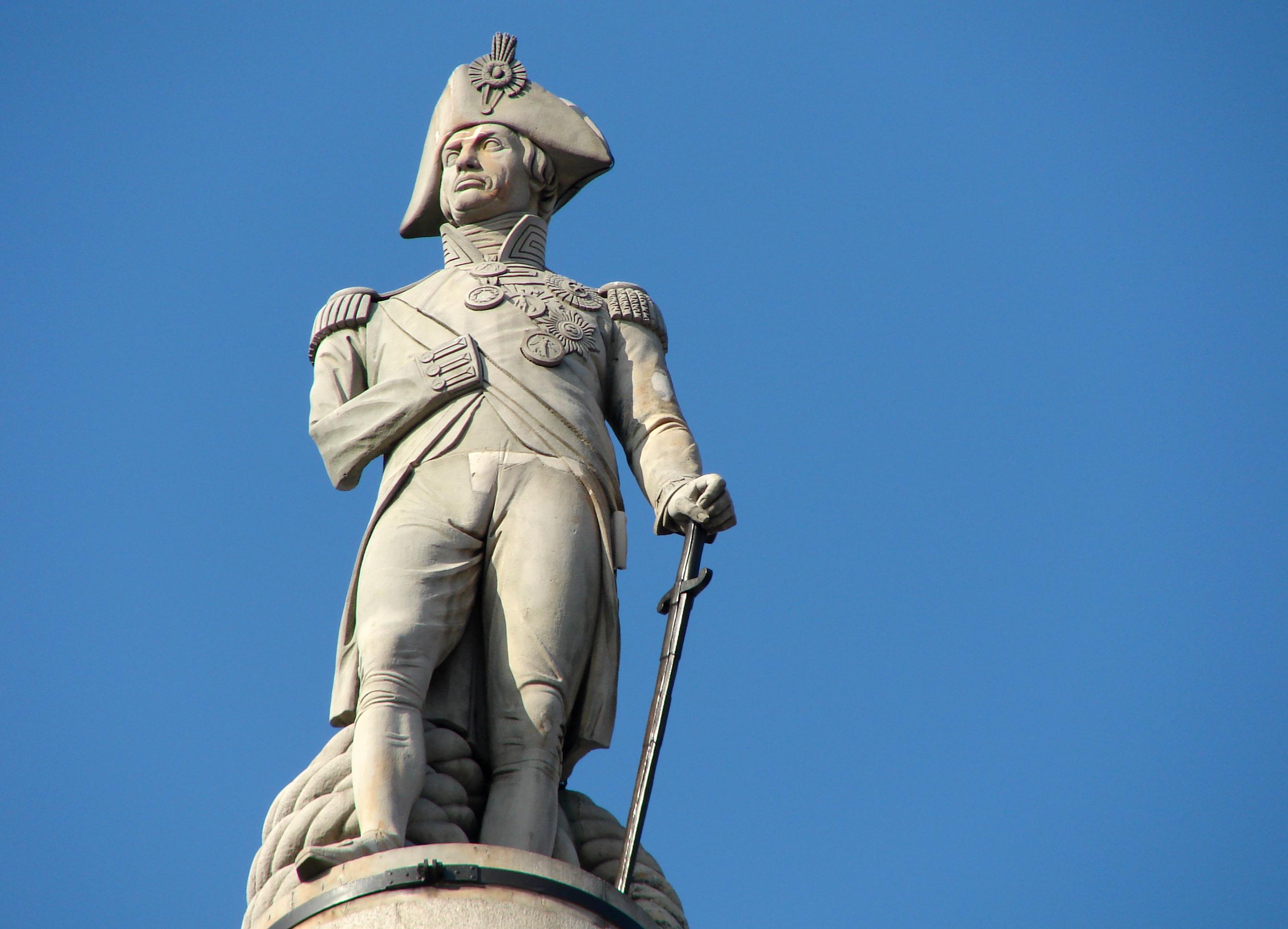 Image result for Nelson's Column