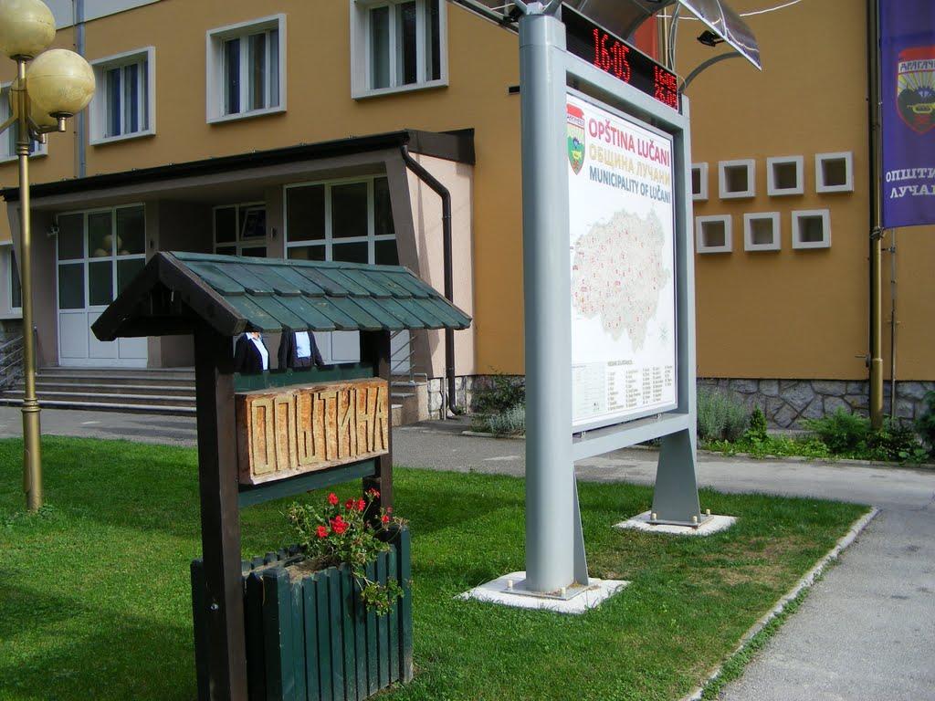 lucani mapa srbije Lučani   Wikipedia lucani mapa srbije