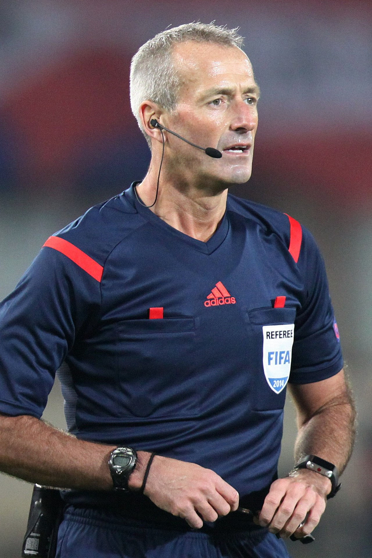 The 47-year old son of father (?) and mother(?) Martin Atkinson in 2018 photo. Martin Atkinson earned a  million dollar salary - leaving the net worth at 1 million in 2018
