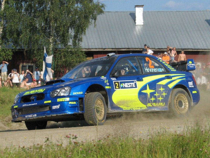 Image result for impreza wrc hirvonen 2004