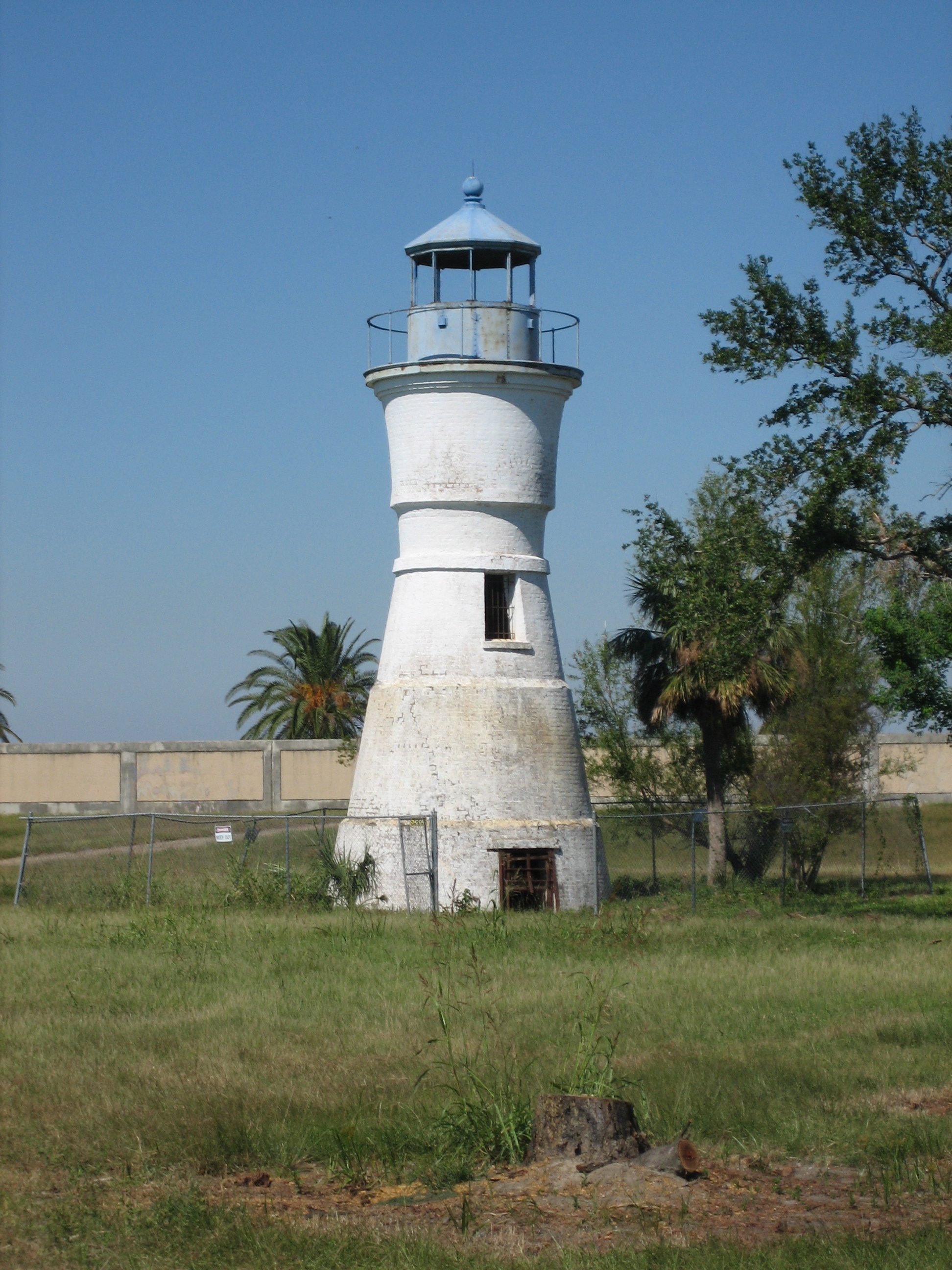 Land-locked lighthouse New Orleans