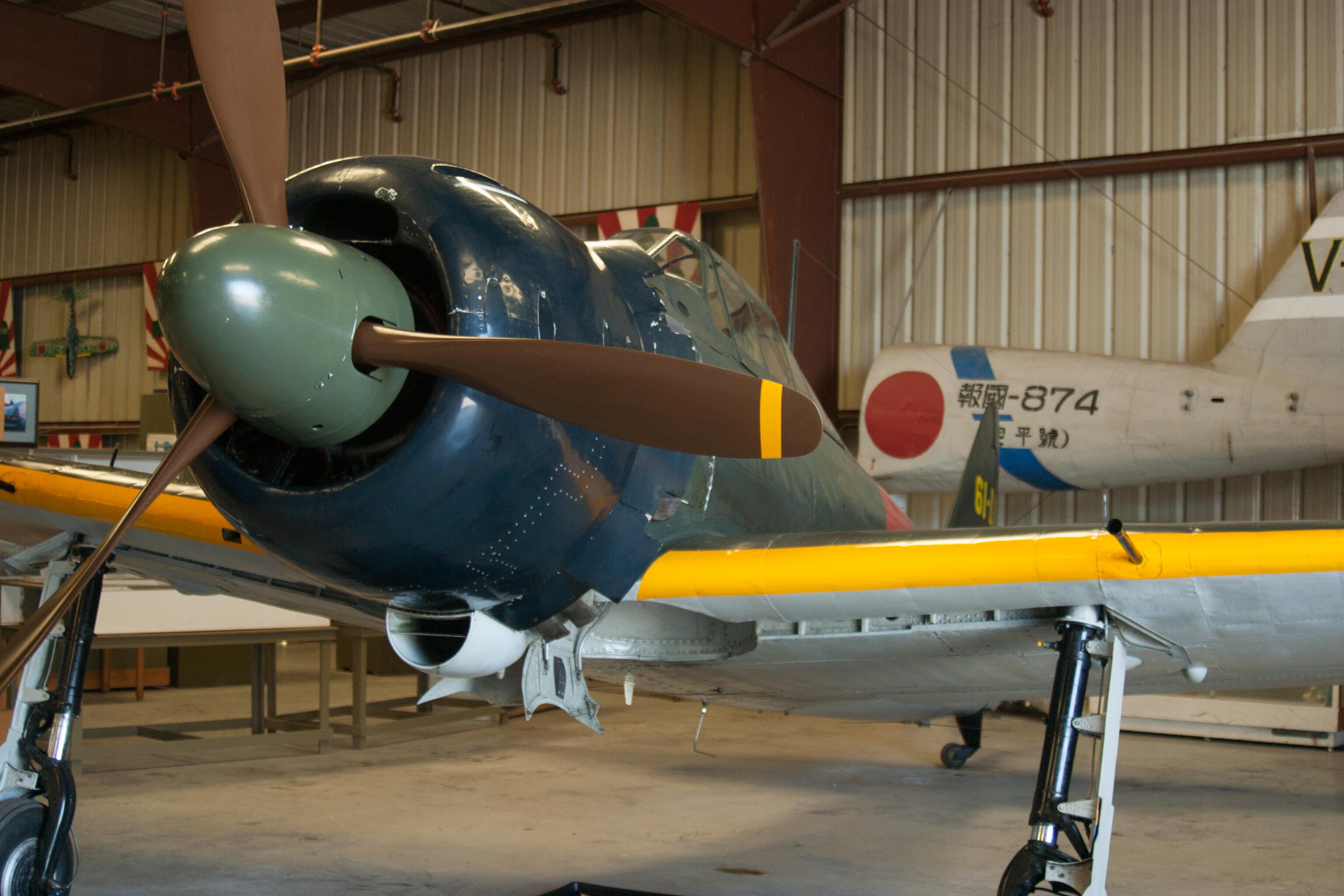 File:Mitsubishi A6M5 Reisen (Zero) (7530044948).jpg - Wikimedia Commons