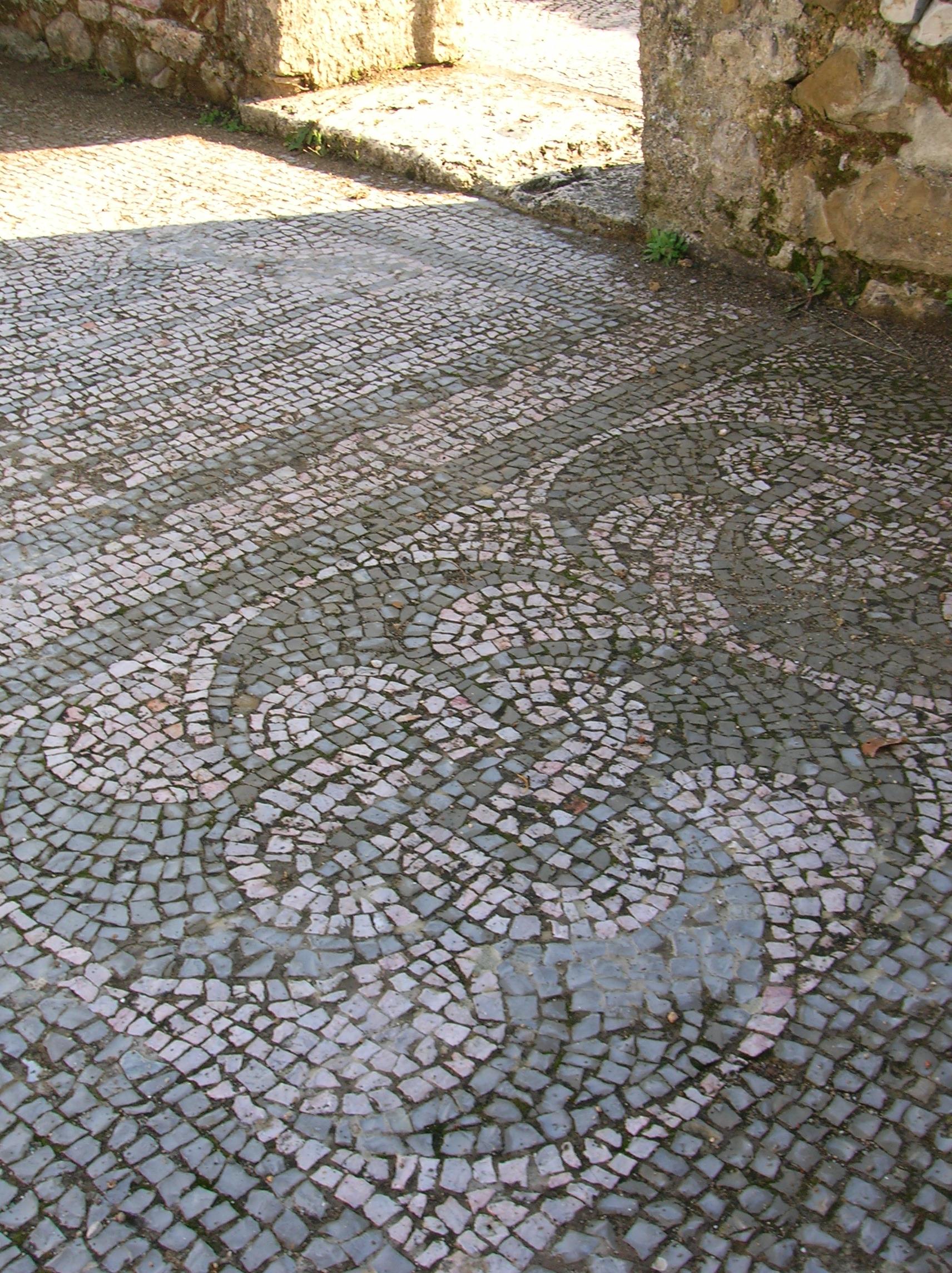 File mosaico romano roselle 1 jpg for Mosaico romano
