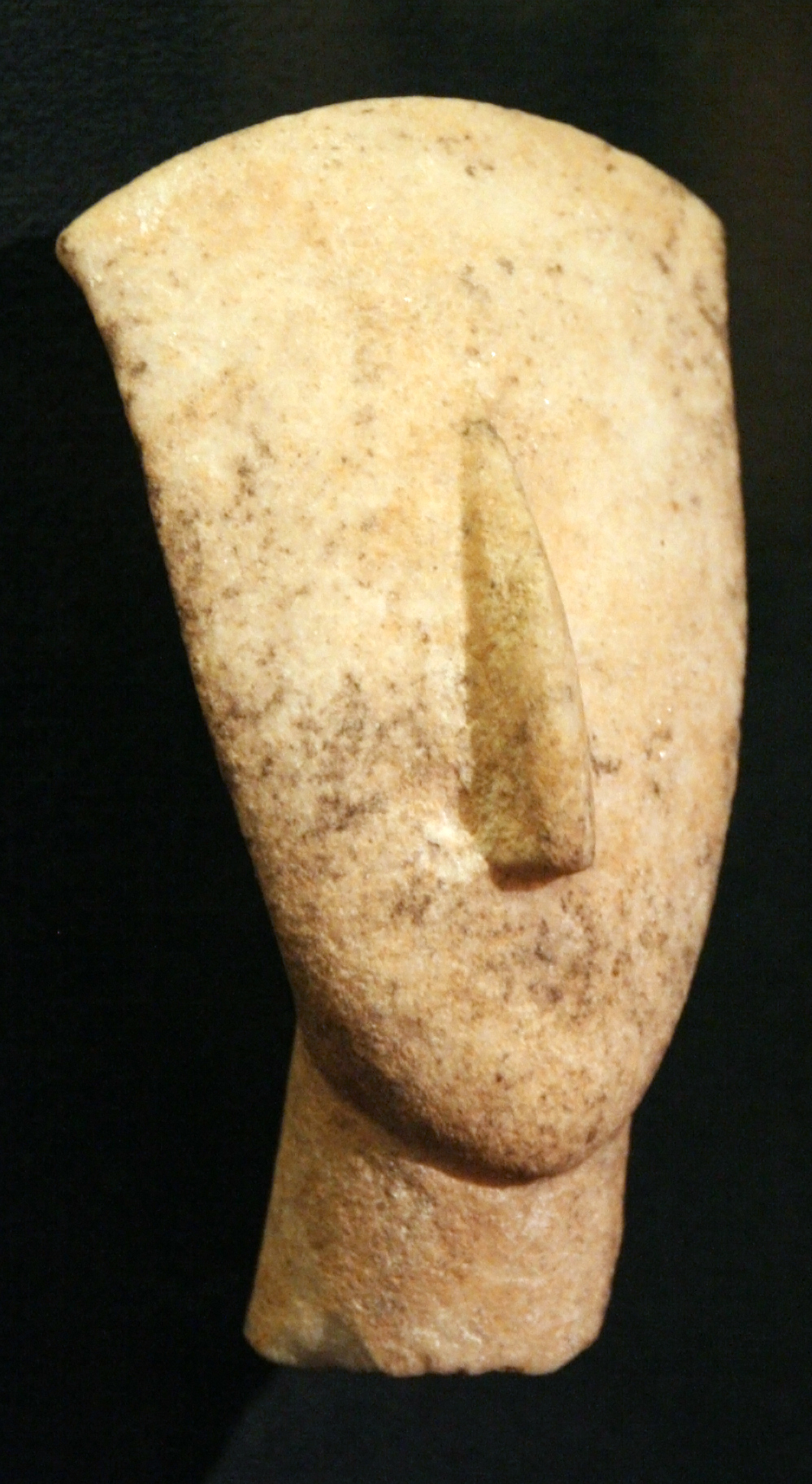 File Museum Of Cycladic Art Head And Neck Of A Figurine