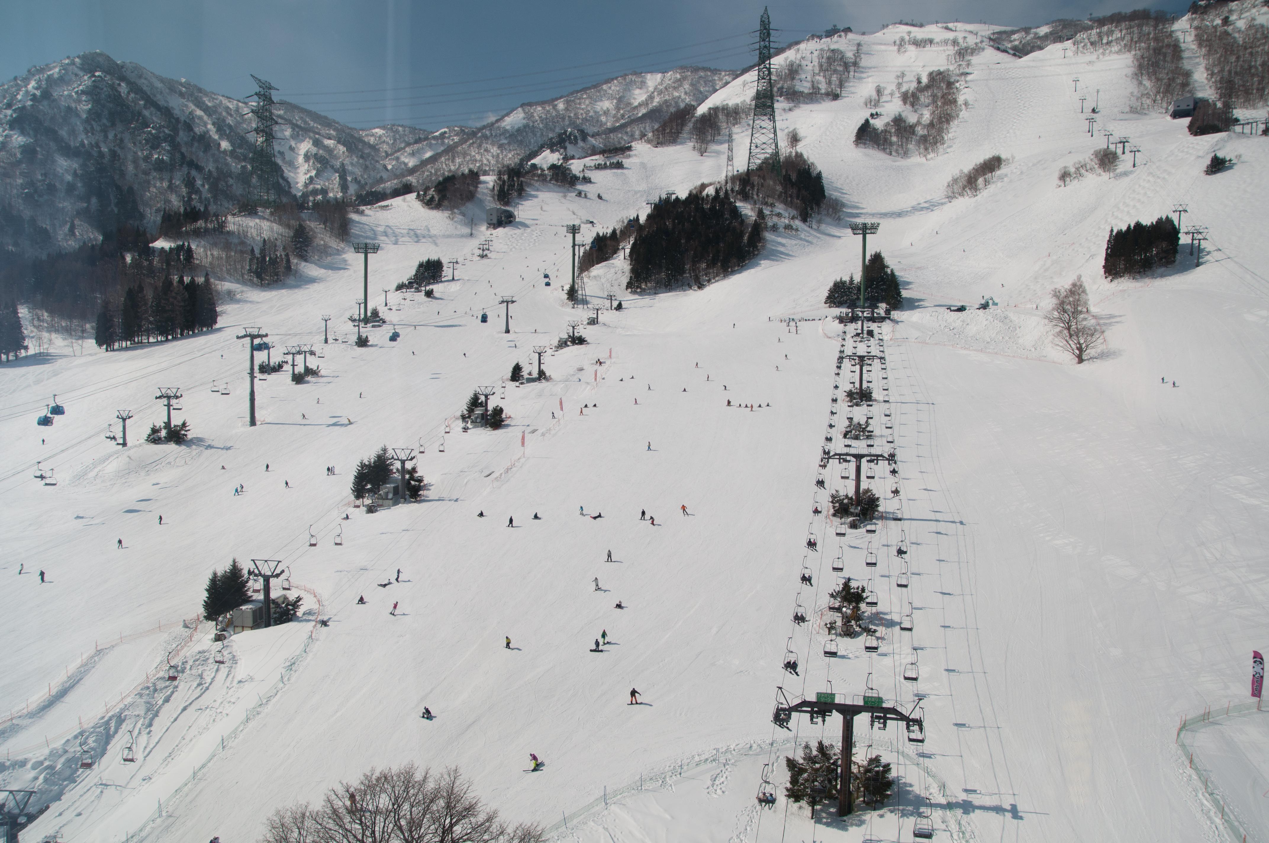 スキー 松代 場 ファミリー