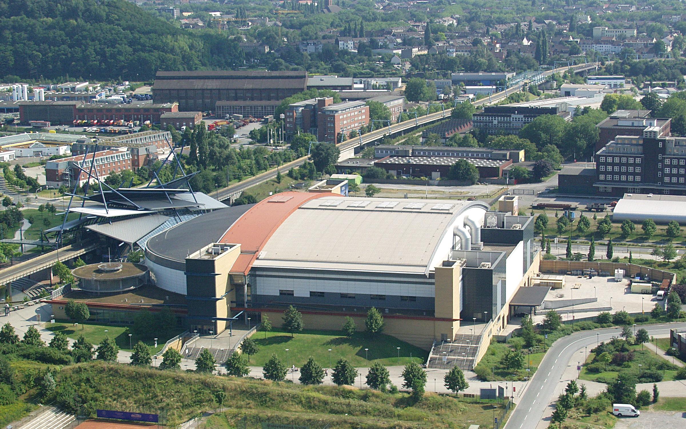 Oberhausen Germany  city pictures gallery : Neue Mitte Oberhausen König Pilsener Arena Wikimedia ...