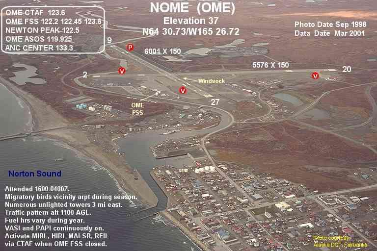 how to get to nome alaska