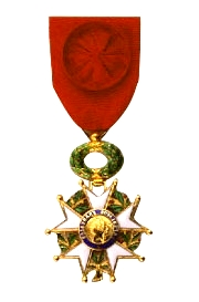 An officer's cross of the Légion d'Honneur