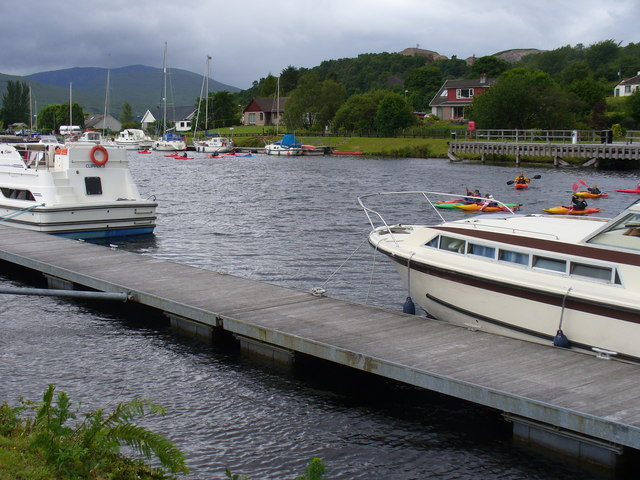 On the Caledonian Canal at Banavie - geograph.org.uk - 888735