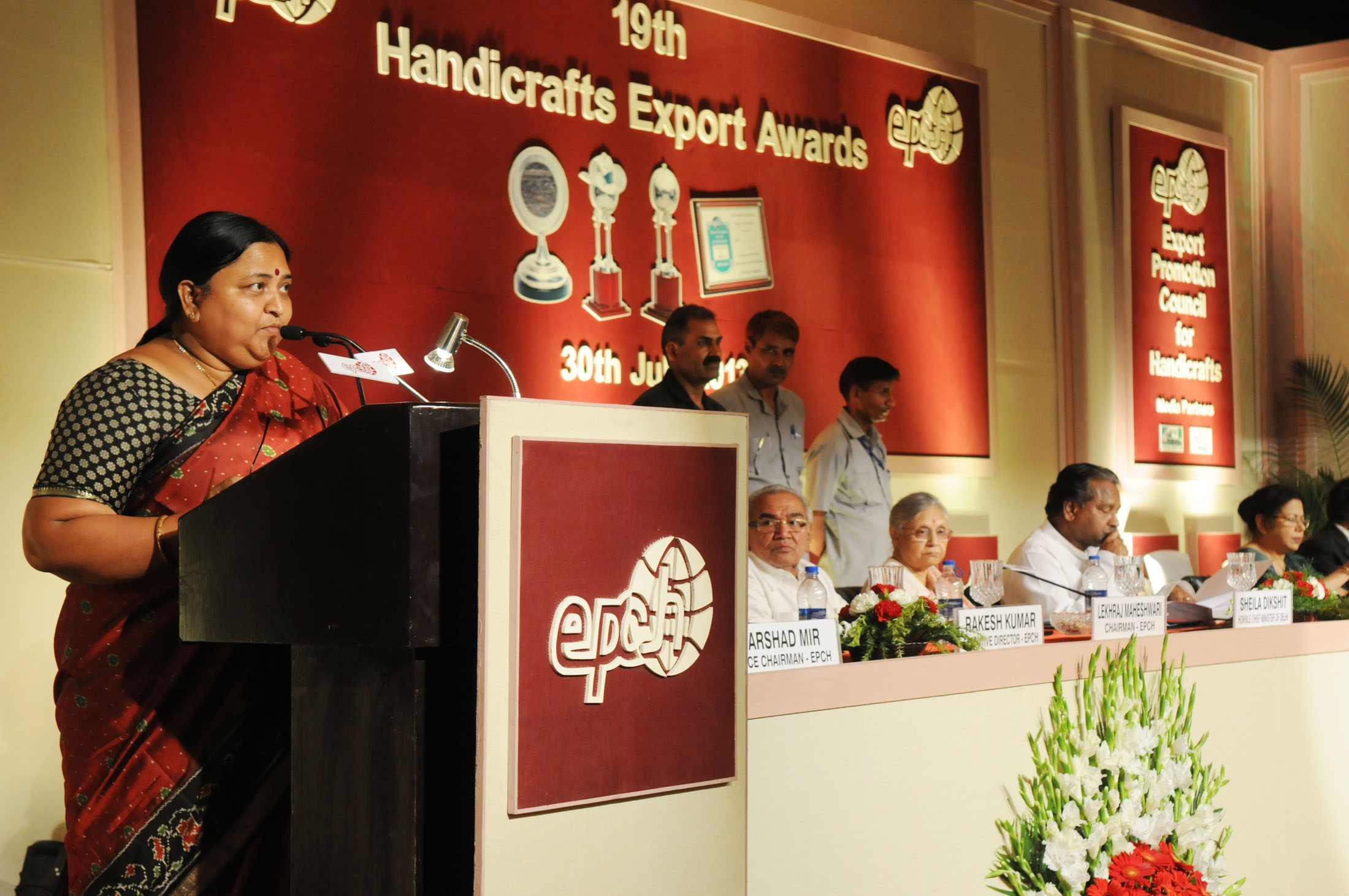 File Panabaka Lakshmi Addressing At The 19th Handicrafts Export