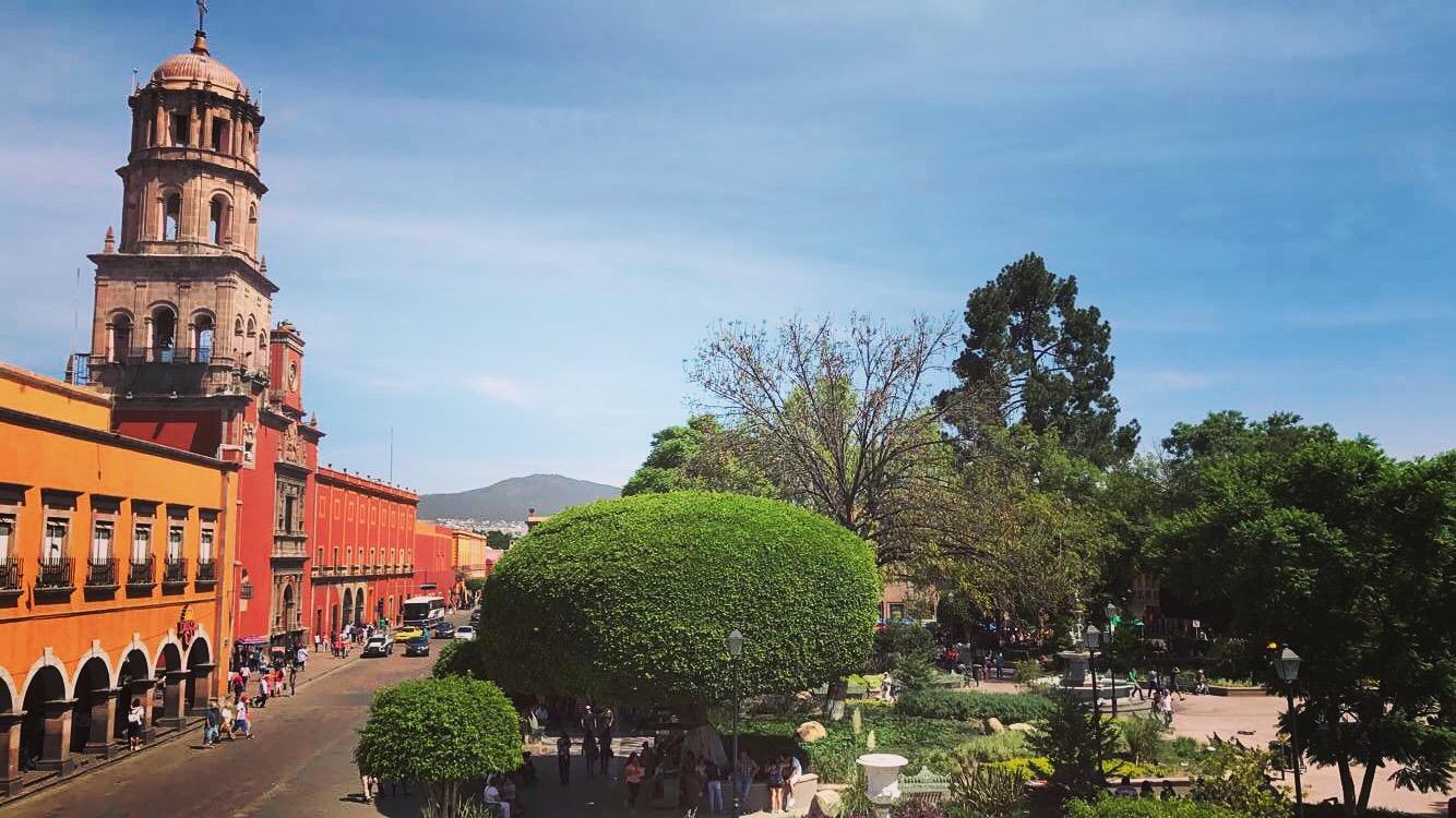 Centro histórico de Santiago de Querétaro - Wikipedia, la enciclopedia libre