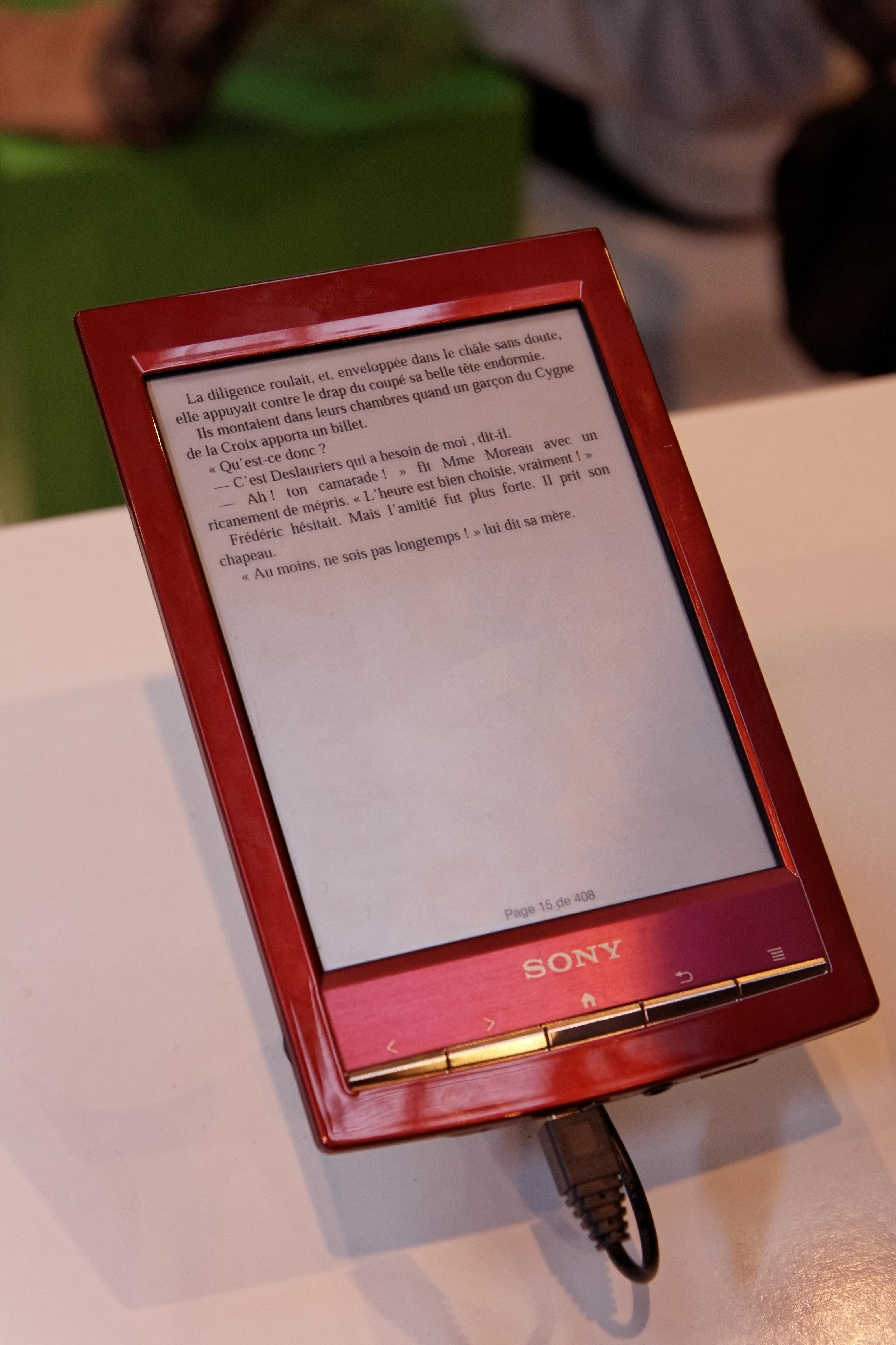 Fileparis salon du livre 2012 liseuse sony touch ereader prs t1 fileparis salon du livre 2012 liseuse sony touch ereader prs t1 publicscrutiny Images