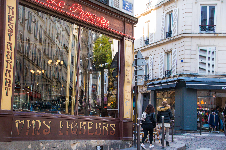 7df01185ea File:Paris 75018 Rue des Trois-Frères 20161030 Restaurant Le Progrès.jpg