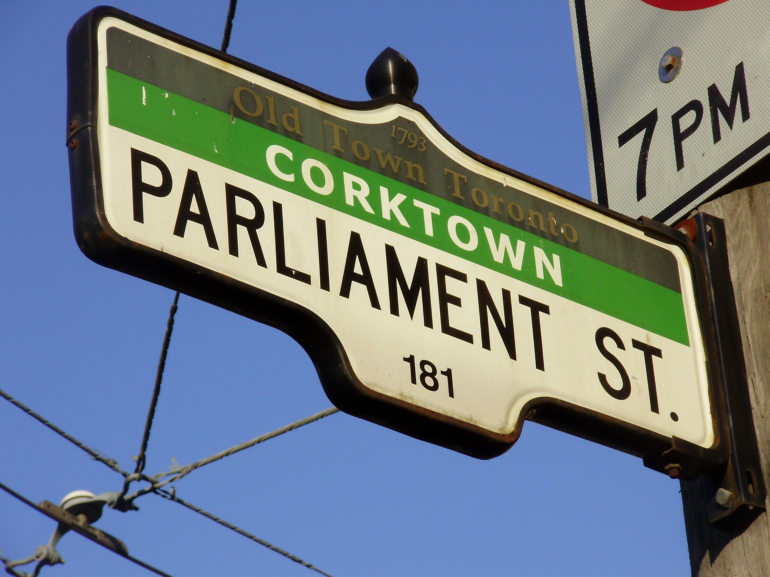 Parliament Street (Toronto) - Wikipedia