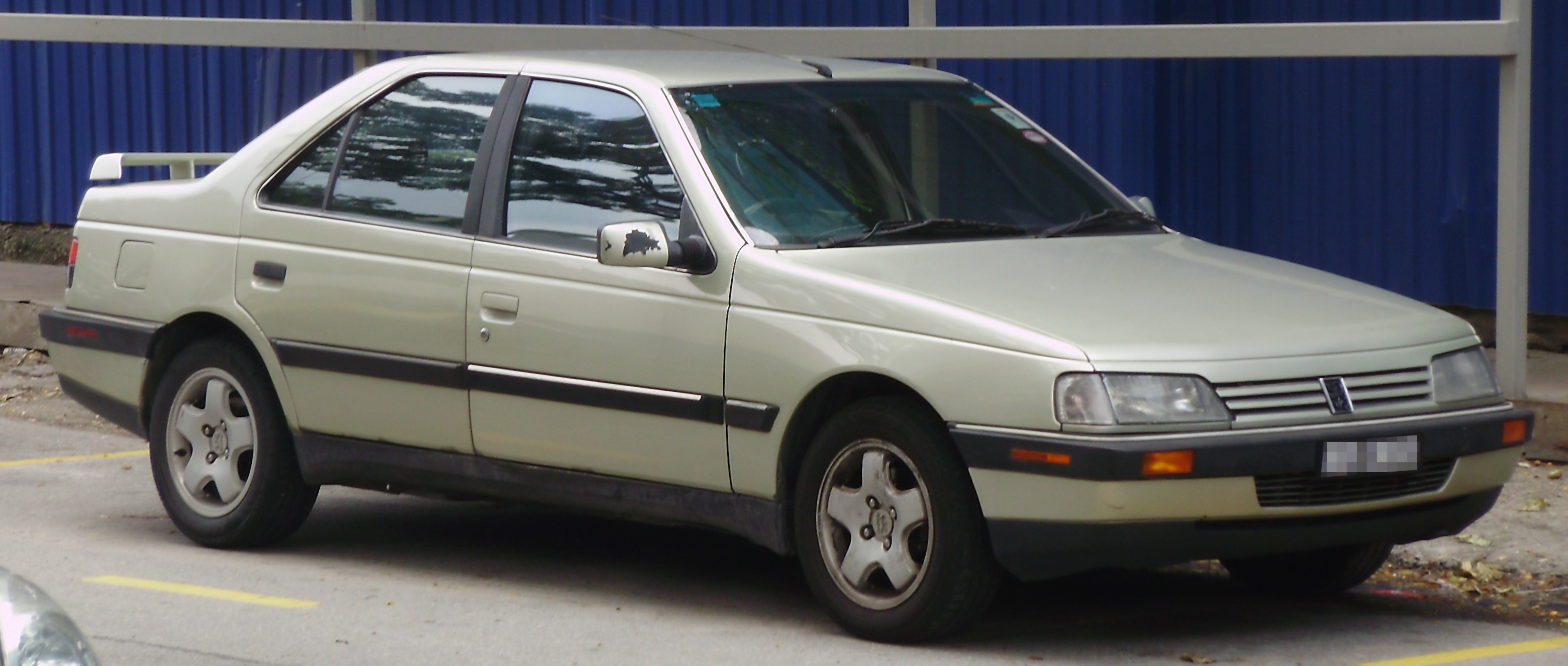 File Peugeot 405 First Facelift Front Kuala Lumpur