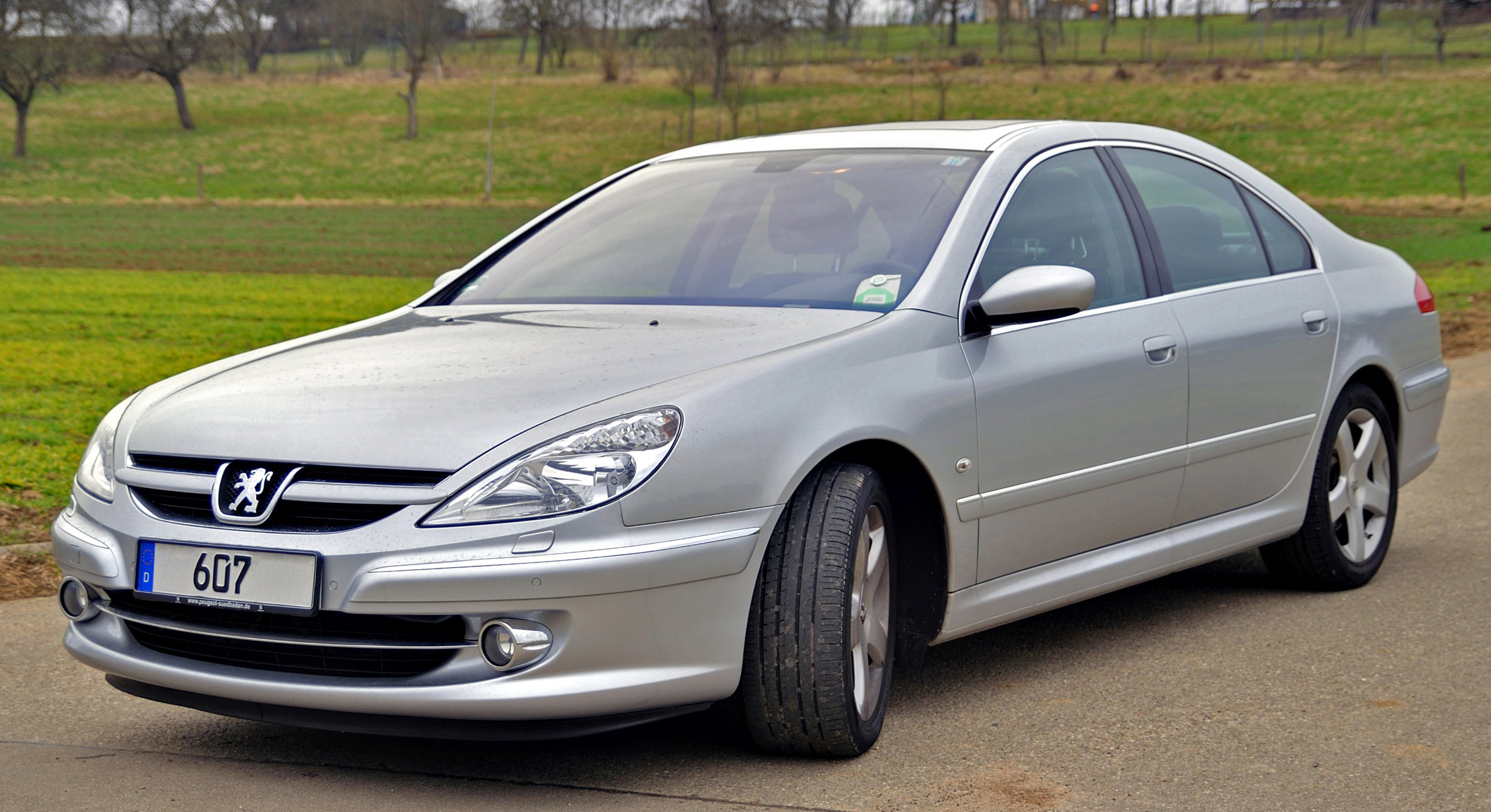 File:Peugeot 607 - 2.7 HDI Facelift.jpg - Wikimedia Commons