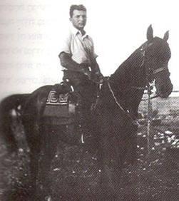 השומר יואש זולר בשדות יוקנעם