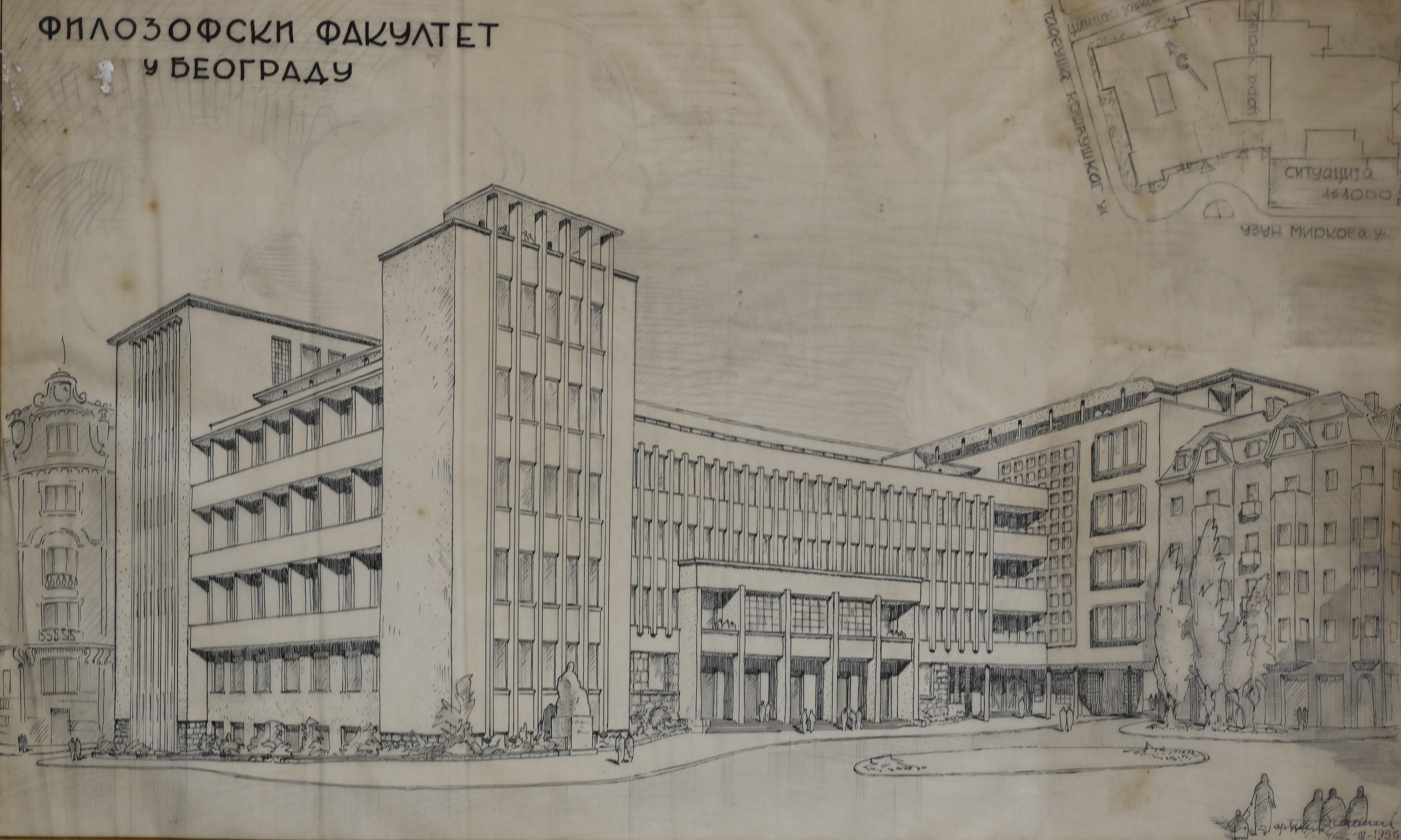 File Plan Filozofskog Fakulteta Aleksandar Deroko I Petar