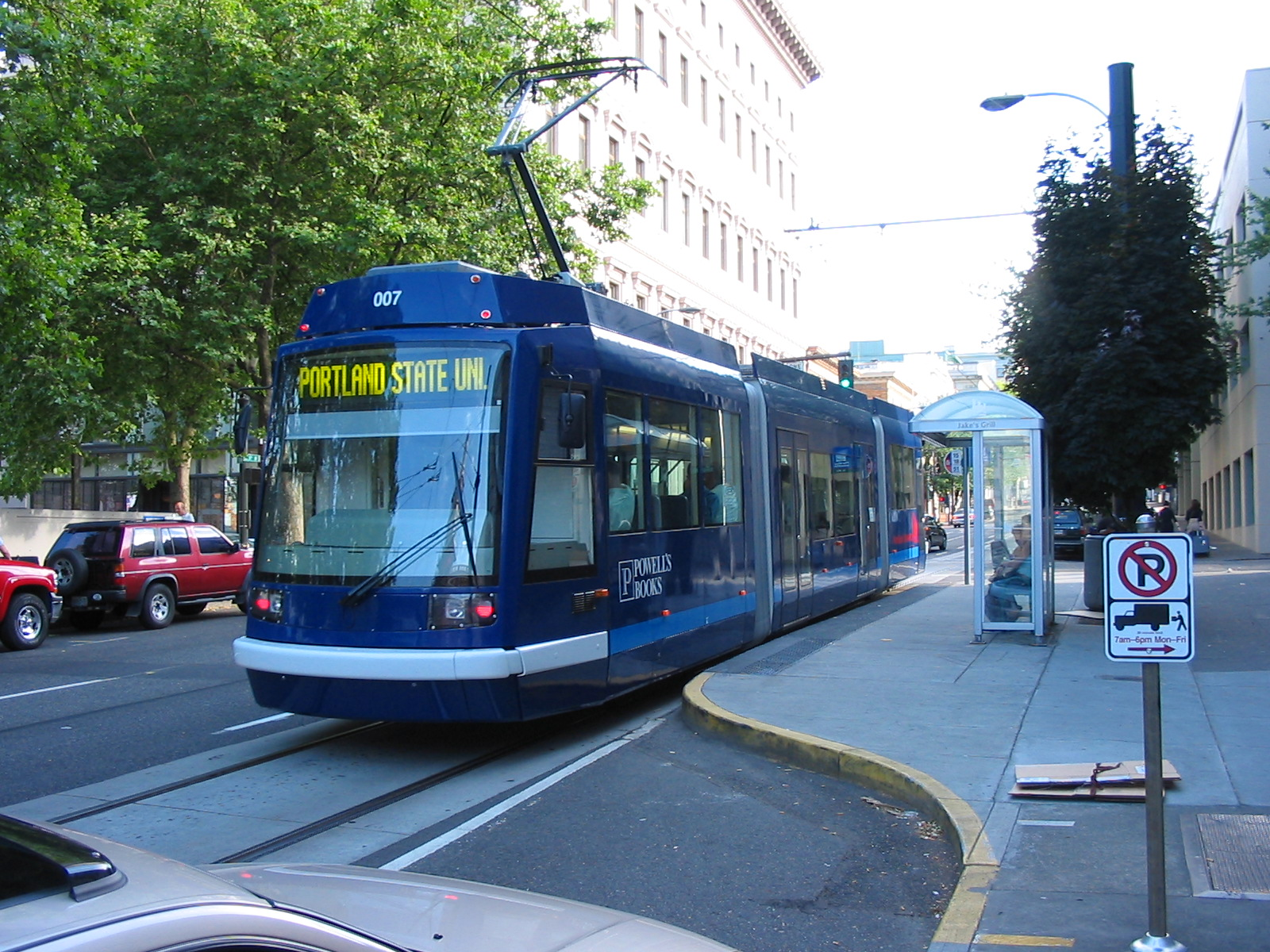 Color-coded streetcars would make the system both attractive and easy to use