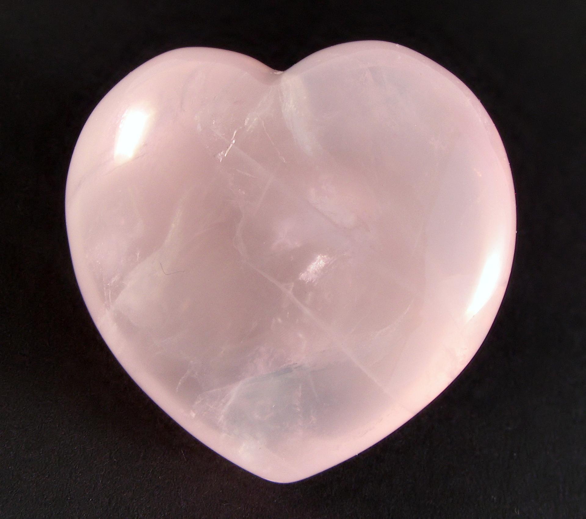 Rose Quartz Stone Silver Ring