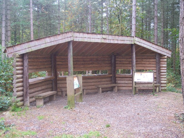 Red Squirrel Viewing Hide, Parkhurst Forest - geograph.org.uk - 72269