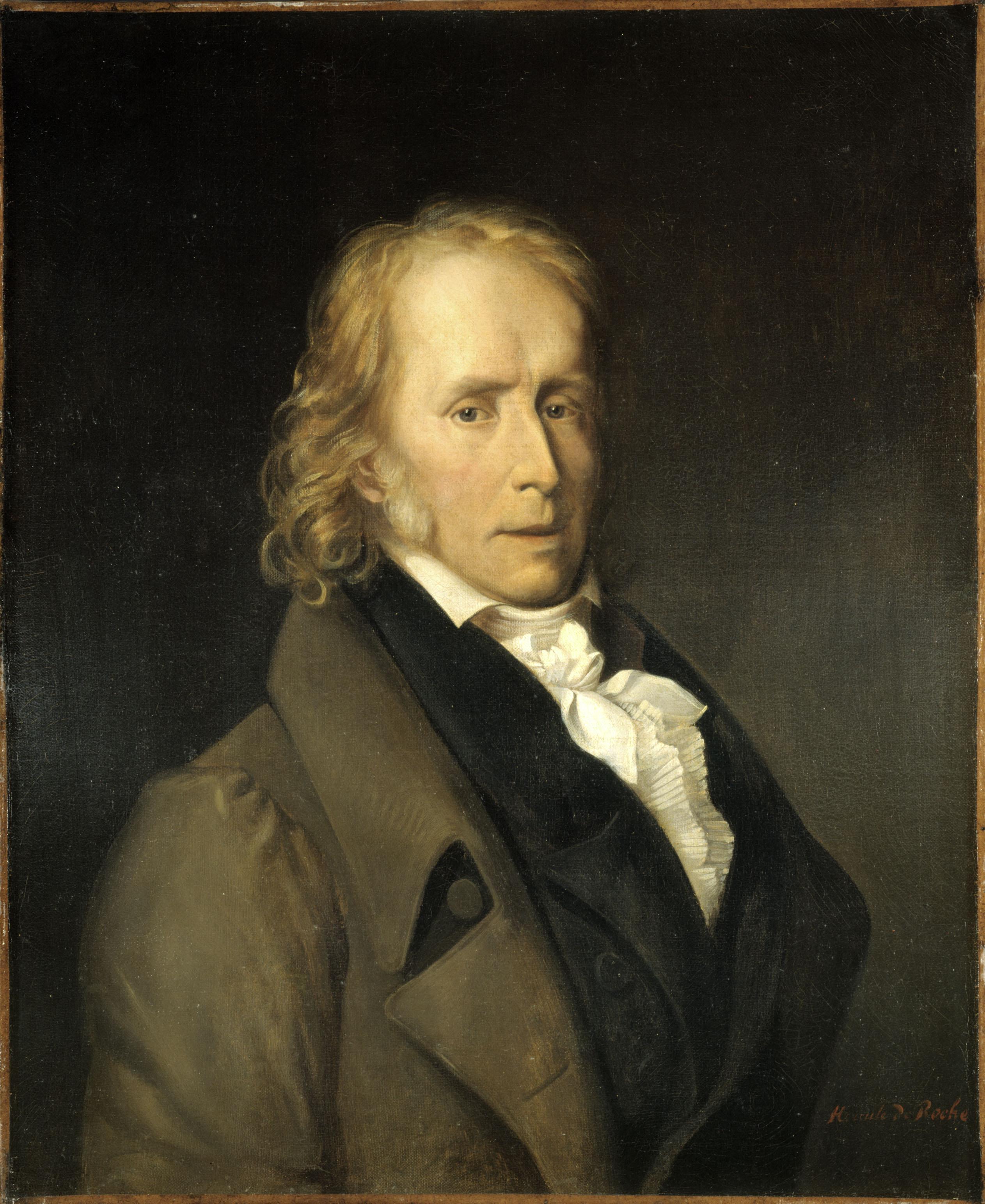Portrait by Hercule de Roche, c. 1820