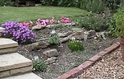 A Naturalistic Rockery In England