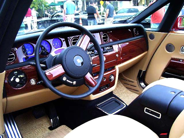 File Rolls Royce Drophead Coup 233 Interior Jpg Wikimedia