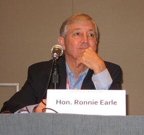 Ronnie Earle American politician