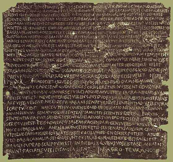 Rom Inschrift