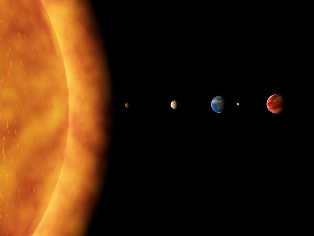 Preschool Solar System Boklet - Pics about space